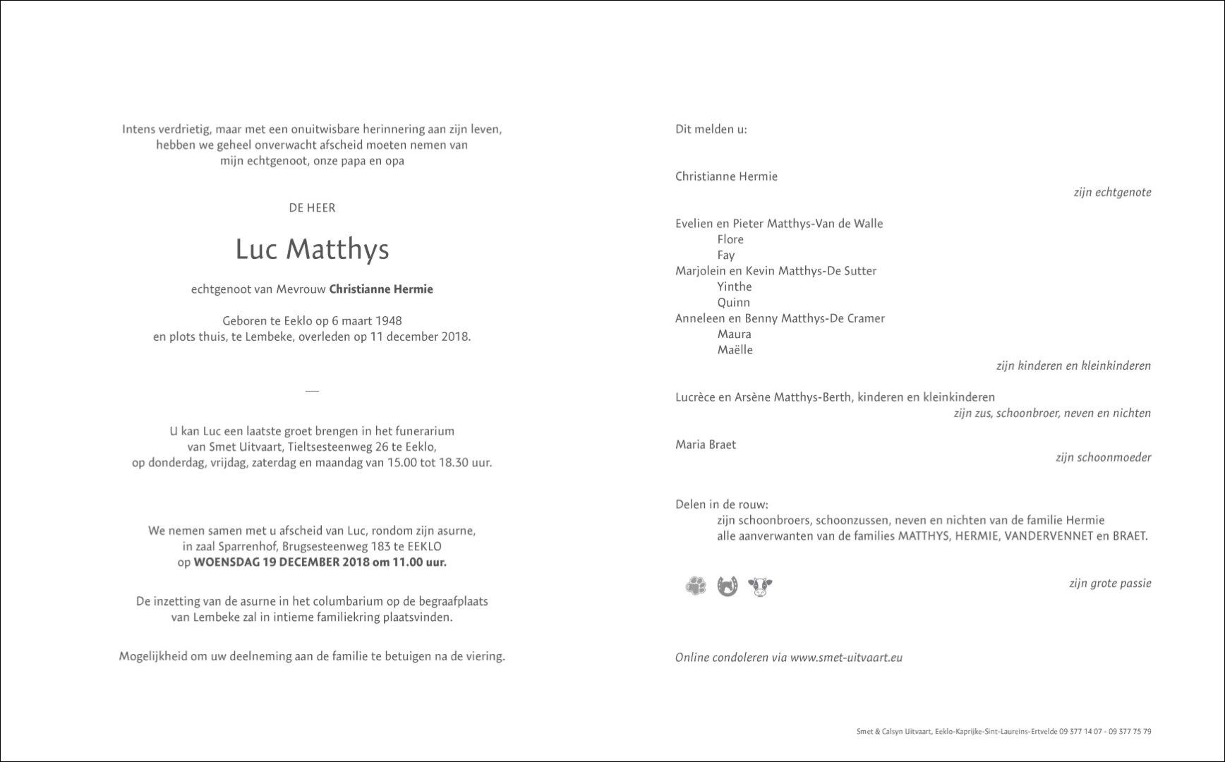 Luc Matthys RB Page 1