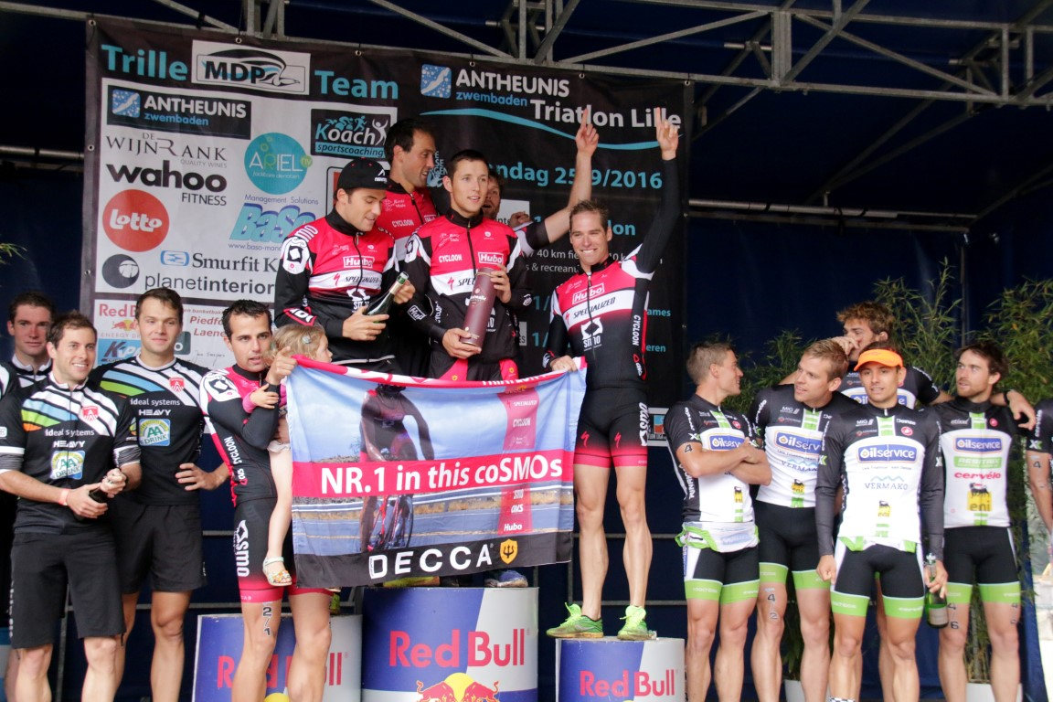 T3 Lille 2016 podium heren